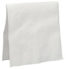 Pacific Blue® 21481 Dinner Napkin, White, 2-Ply, 1/8 Fold, 15 x 16.9 in