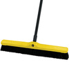Floor Sweep, Poly / Tampico, 24 in, Threaded, Black
