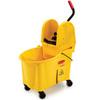 WaveBrake®, Down Press Combo, Plastic, Down Press, 44 qt, Yellow