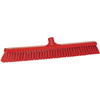 Vikan® Floor Broom, Polyester, 23-1/2 in, Threaded, 2 W x 24 L