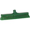 Vikan®, Floor Broom, Polyester, 16-1/2 in, Threaded, 2 W x 16 L