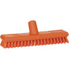 Vikan® 7041 Waterfed Deck Scrub Brush with Stiff Bristles