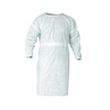 Kleenguard® A20, Smock, SMS Fabric, White, Tie Closure, Universal