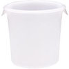 Rubbermaid FG572100WHT White Round Storage Container, 4-Quart
