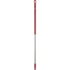 Vikan® 2937 Threaded Broom Handle, Aluminum / Polypropylene,