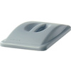 Rubbermaid FG268888LGRAY Slim Jim® Gray Handle Top Lid