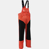 Freezer Bib Overall, Nylon Thinsulate, Red / Black, Medium