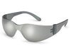 Starlite®, Safety Glasses, Polycarbonate, Gray, Anti-Fog|Scratch-Resistant, Frameless