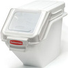 Rubbermaid FG9G5700WHT ProSave Shelf Ingredient Bin, 5.4-Gallon