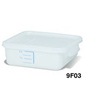 Rubbermaid FG9F0400WHT Square Storage Container, 4-Quart