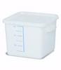 Rubbermaid FG9F0500WHT Square Storage Container, 6-Quart