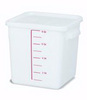 Rubbermaid FG9F0600WHT Square Storage Container, 8-Quart