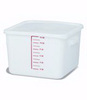 Rubbermaid FG9F0700WHT Square Storage Container, 12-Quart