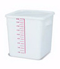 Rubbermaid FG9F0800WHT Square Storage Container, 18-Quart
