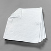 Absorbent Pad, Polypropylene / Polyester, 43.5 @ ASTMF 726-81|36 @ ASTMF 726-06 gal, White, 19 in, 17 in, Oil Only, 200 per Case