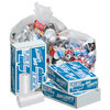 Can Liner, Liner Low-Density Polyethylene, 20 to 30 gal, 0.65 mil, Heavy, Clear
