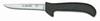 Sani-Safe®, Deboning Knife, Standard, High Carbon Steel, Polypropylene, Ergonomic|Textured, Polished, Sharp/Honed Edge, 5 in, 9-1/2 in, ErgoGrip, Slip-Resistant, Black, 12 per Box, Re-Sharpenable Blade, 4-1/2 in