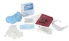 NORTH®, Bloodborne Pathogen Clean-Up Kit, 12 Kits per Case