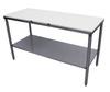 Heat Seal KK-2S3096 Cutting Board Top Preparation Table, 30 in, 96 in, 34 in