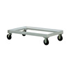 Chill Tray Dolly, 22-1/2 W x 42-1/2 L in, 1200 lbs, Aluminum, 2
