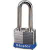 Safety Lockout Padlock, Laminated Steel, Blue (Bumper), Keyed Different