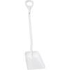 Vikan®, Ergonomic Shovel, White, Aluminum, 37 in, Polypropylene