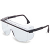 Uvex S2500C Astro OTG 3000 Safety Glasses, Black Frame