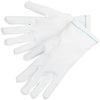 Inspector Gloves, Nylon, White, Uncoated, Large