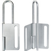 Lockout Hasp, Steel, Gray, 8