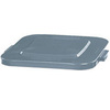 BRUTE® Square Container Lid, Gray