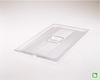 Rubbermaid FG134P00CLR Clear Full Size Cold Food Pan Cover