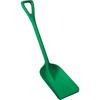 Hygienic Poly Shovel, Green, Polypropylene, Polypropylene