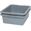 Rubbermaid FG335100GRAY Utility Box, Gray, 7-1/8 gal, Dishwasher Safe, BPA-Free