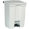 Step-On Container, 8 gal, White