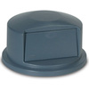 BRUTE®, Dome Top Grey, Fits 32 gallon round BRUTE® Containers