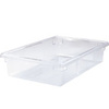 Rubbermaid FG330800CLR Clear Food/Tote Box, 8 1/2-Gallon
