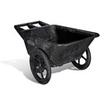 Big Wheel®, Big Wheel Cart, 8-3/4 cu. ft (Max)|7-1/2 cu. ft (Nominal), 300 lbs, High-Density Polyethylene