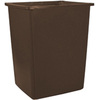 Rubbermaid FG256B00 Glutton® Waste Container, 56-Gallon