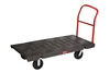 Heavy-Duty Platform Truck, 2000 lb, 60 L x 30 W in, High-Density Polyethylene / Steel (Frame, Handle)
