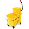 WaveBrake®, Side Press Combo, Plastic, Side Press, 44 qt, Yellow