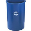 Slim Jim®, Recycling Container, 21 gal, Blue