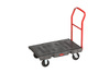 Heavy-Duty Platform Truck, 500 lbs, 36 L x 24 W in, High-Density Polyethylene / Steel (Frame, Handle)