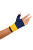 Thumb / Wrist Wrap, Hook & Loop, Navy, Neoprene, Right Hand, Slip-On, Medium