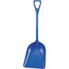 Hygienic Poly Shovel, Blue, Polypropylene, Polypropylene