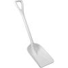 Hygienic Poly Shovel, White, Polypropylene, Polypropylene