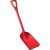 Hygienic Poly Shovel, Red, Polypropylene, Polypropylene