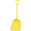 Hygienic Poly Shovel, Yellow, Polypropylene, Polypropylene