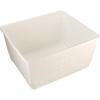 Aero-Tote Tub, Polyethylene, 800 lbs, White