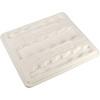 Aero-Tote Lid, 41 L x 36-1/2 W x 2 H in, High-Density Polyethylene, White