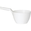 Vikan®, Dipping Bowl, Polypropylene, White, 64 oz, 7-1/2 in, 4-3/4 in, Measuring and Scooping Liquid